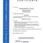 TUV 14025 EN